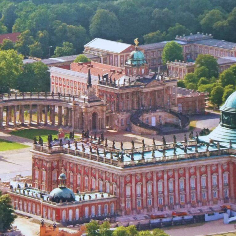 Neues Palais, Potsdam, Deutschland