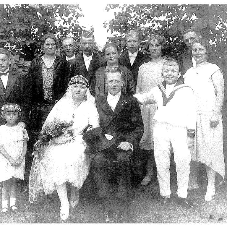 Hochzeit, Deutschland 1920s