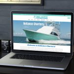 Purple Fish Creative - Reliance Charters Website
