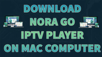 How to install Nora Go on Mac Computer