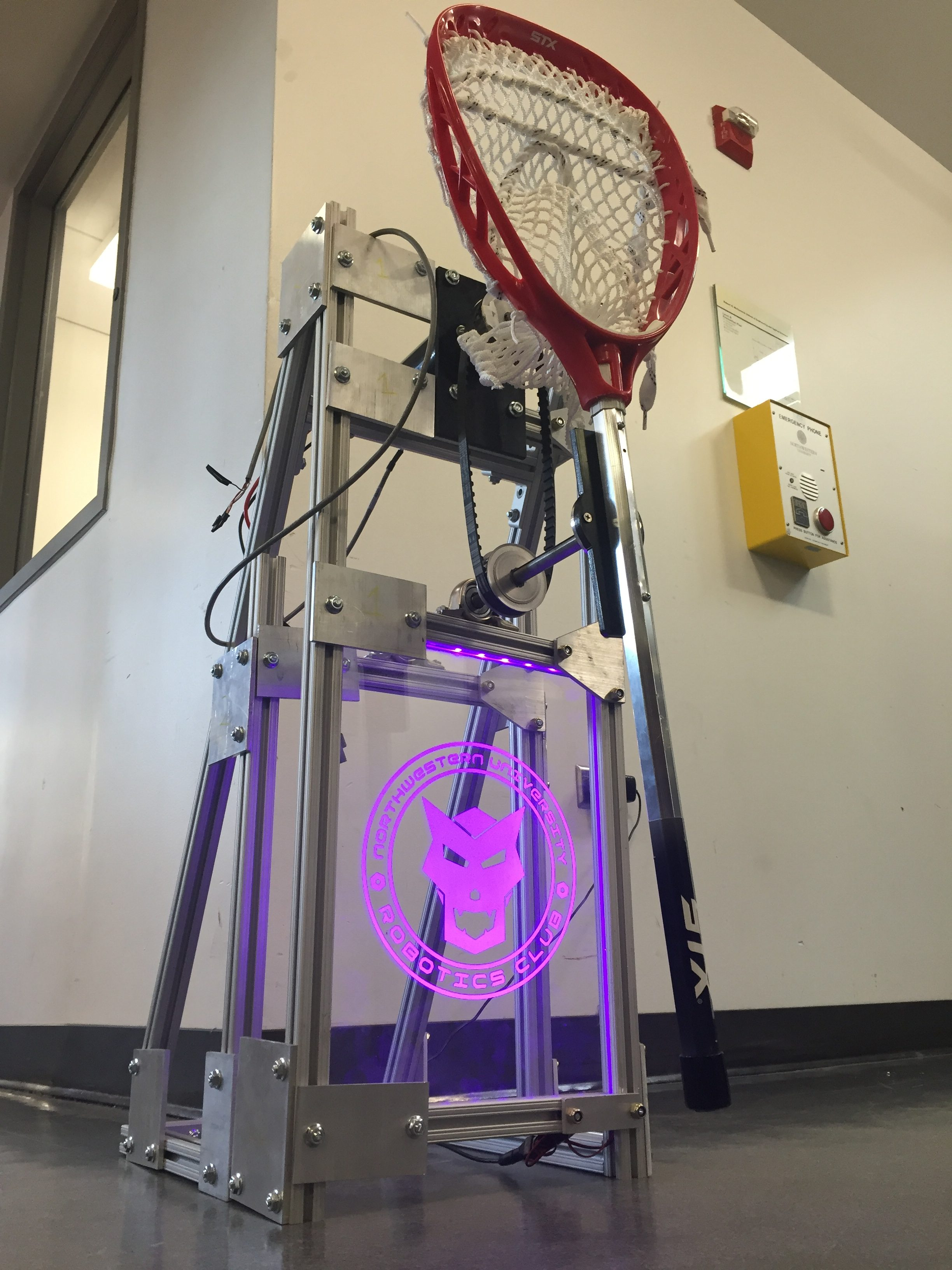 Half-Scale LAX Robot