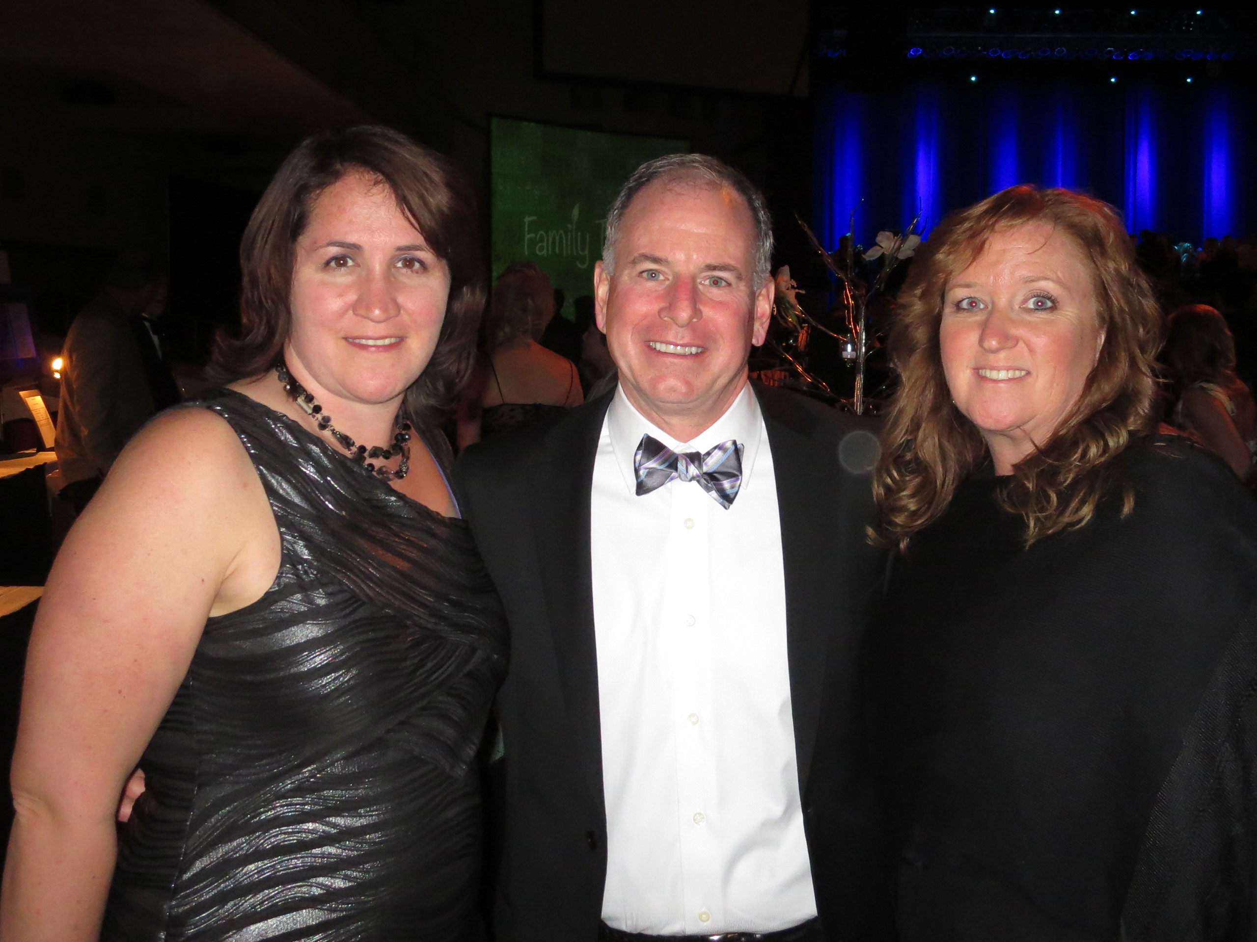 Jessica, John and Bonnie Supporting San Jose Children's Musical Theater