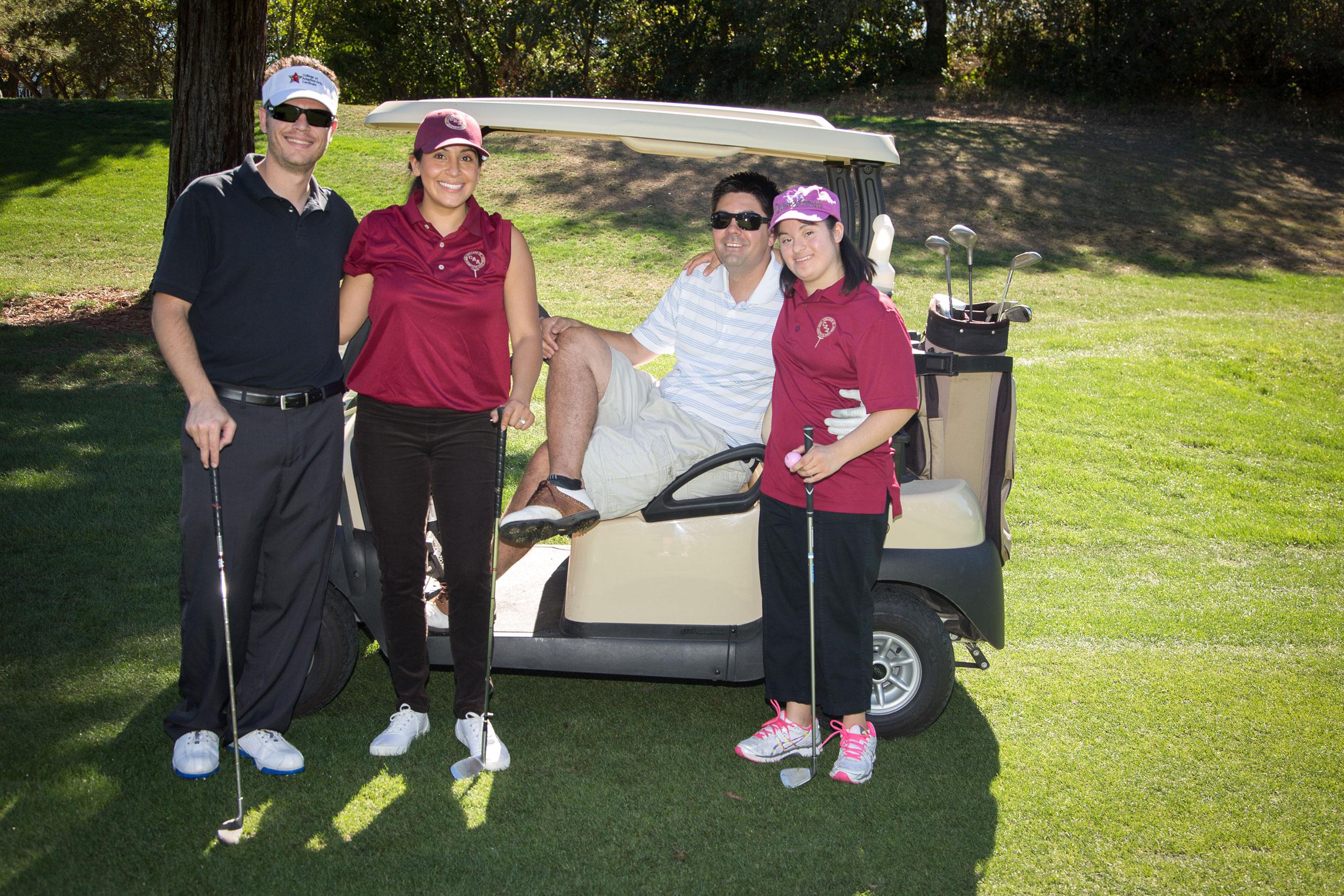 Matt, Mari, Scott and Stephanie Supporting College of Adaptive Arts