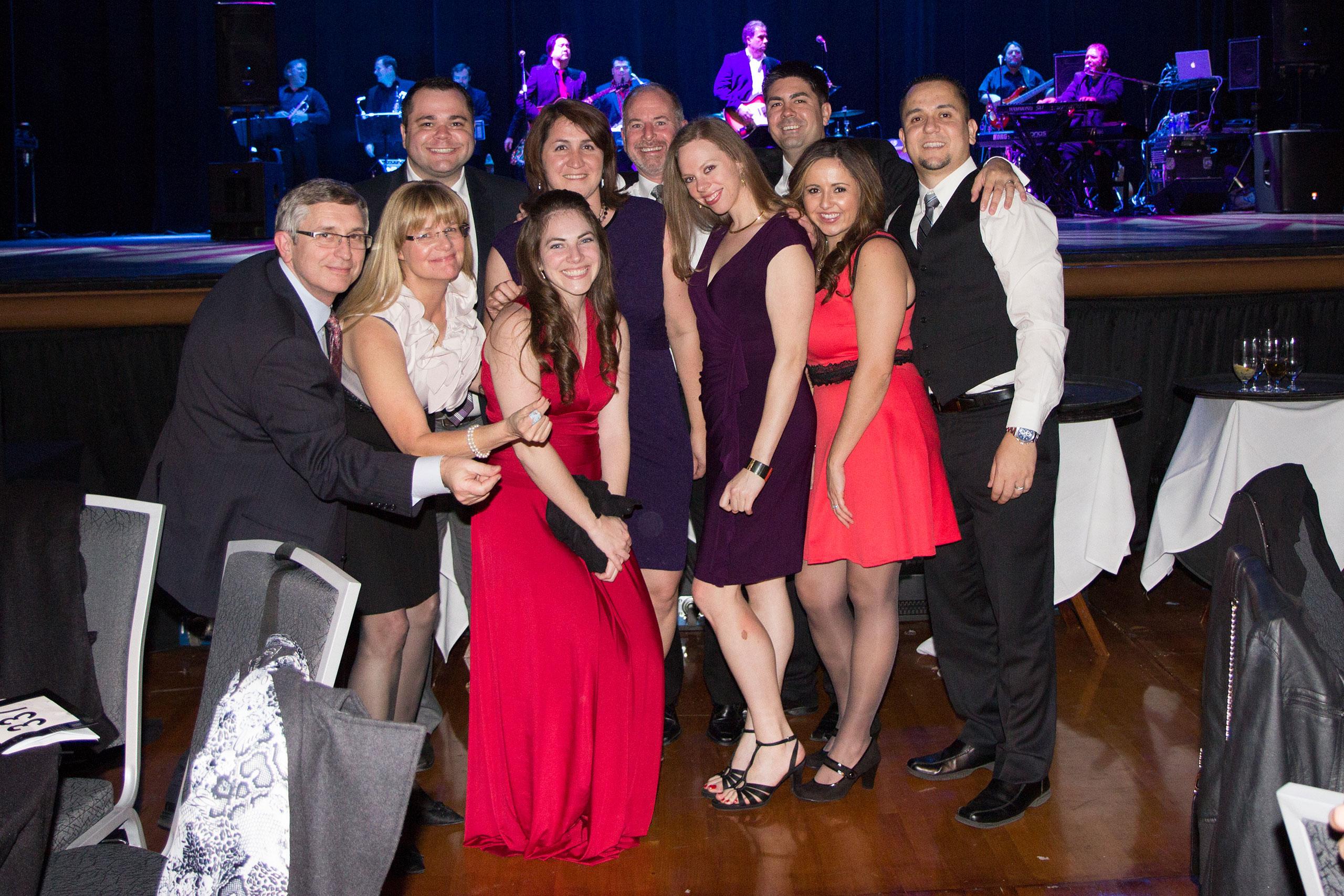 Bob, Yvette, Matt, Jessica, Cristina, John, Caroline, Scott, Veronica and Manny Supporting Children's Musical Theater
