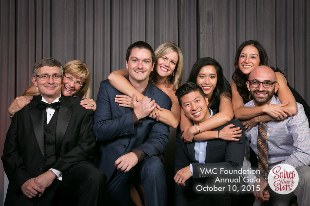 """Bob, Yvette, Tom, Julie, Darren, Lucy, Michelle and Danny Supporting VMC Foundation """"Soiree Under the Stars"""""""