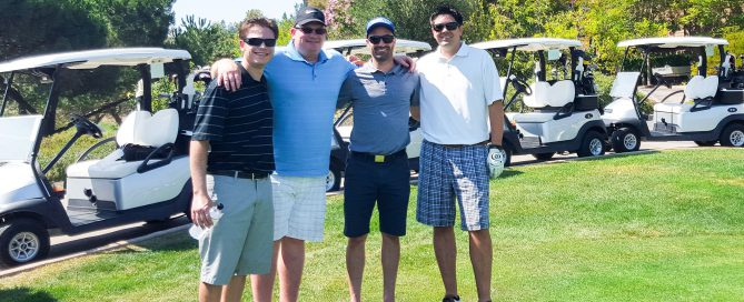 Matt, Ben, Juan and Scott Supporting United Way Silicon Valley