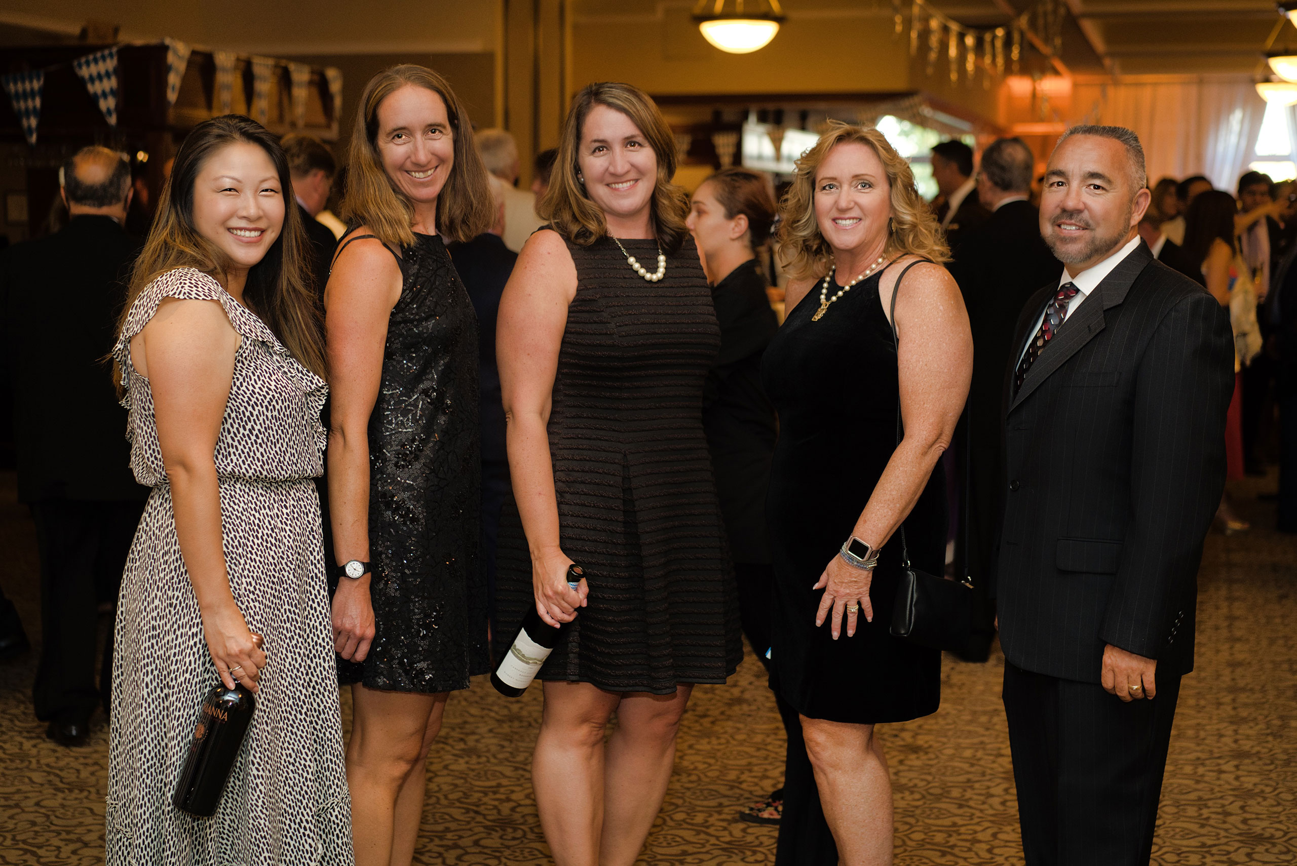 Lydia, Darcy, Jessica, Bonnie & Mike Supporting VMC Foundation – VMC Gala
