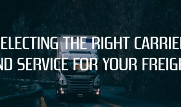 Selecting the right Carrier and service