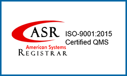 ASR American Systems Registrar ISO-9001:2015 Certified QMS