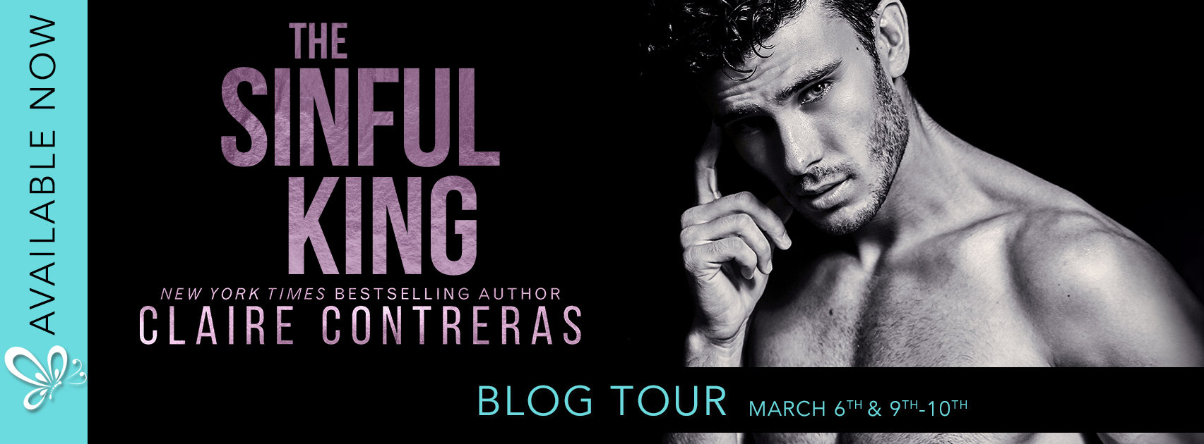 [Blog Tour] [Portia's Review]The Sinful King by Claire Contreras (Naughty Royals #1)