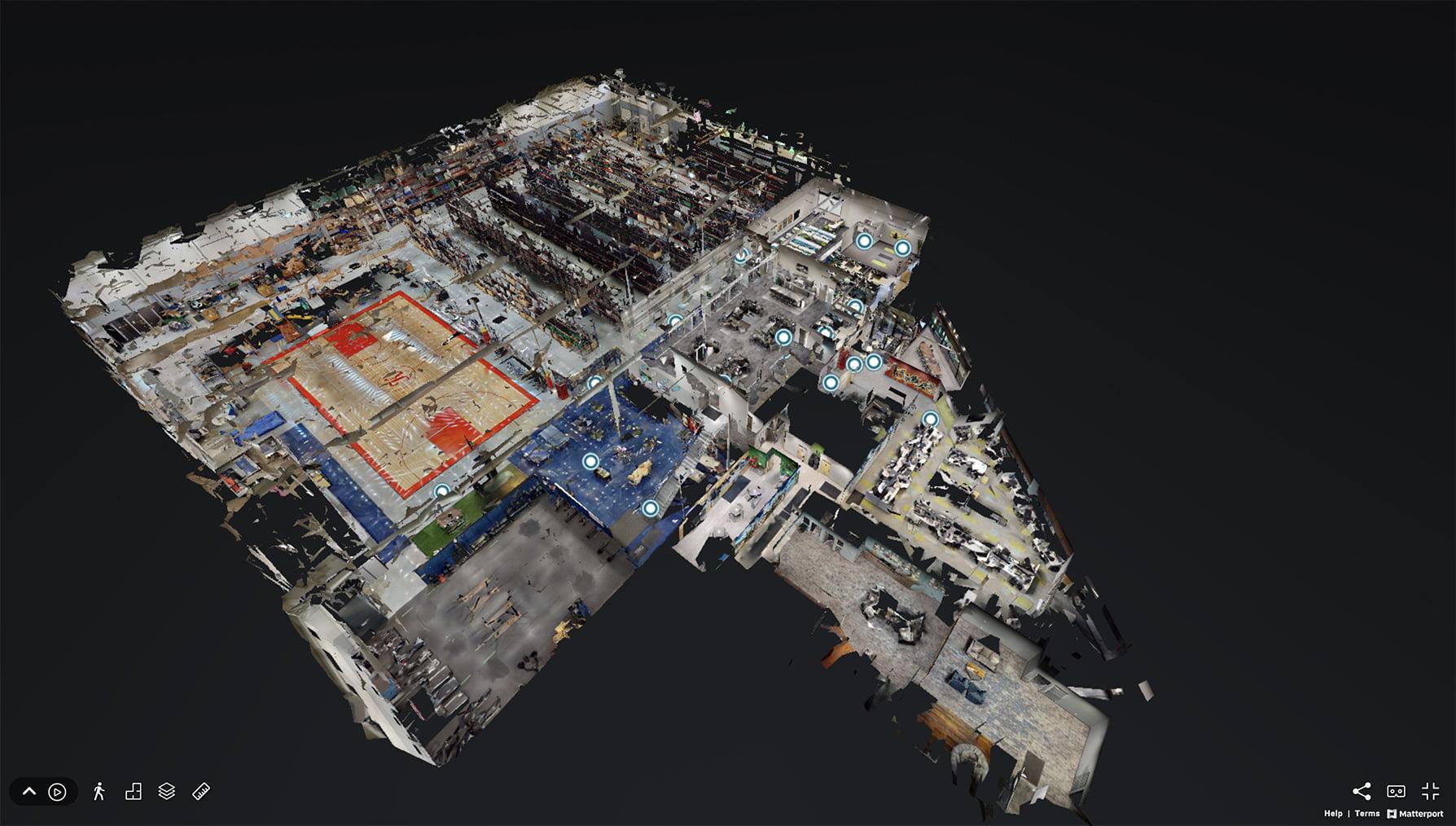 Cleveland 3D Matterport