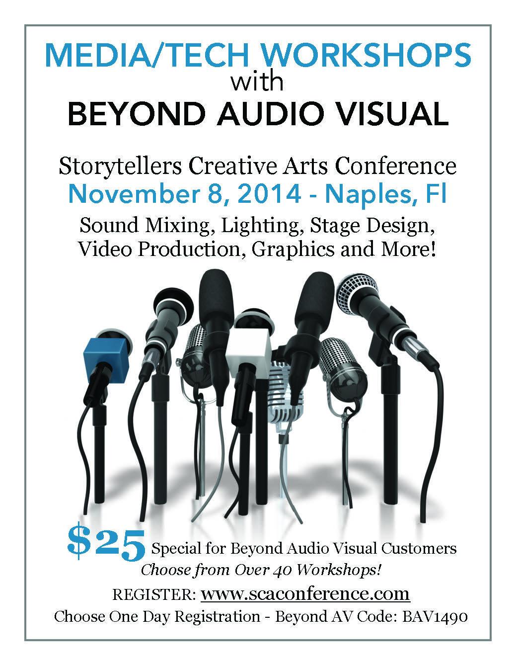 SCA Conf Media Workshops2