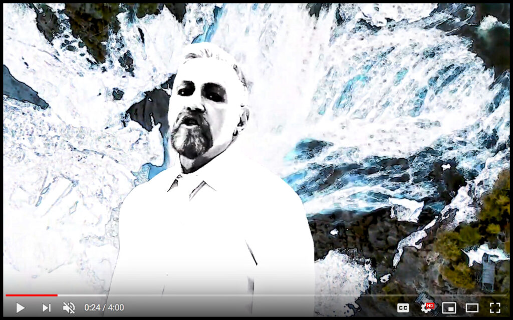 Video still from the Munich Syndrome video for Cold, from the Electro Pop 2 Deluxe Edition