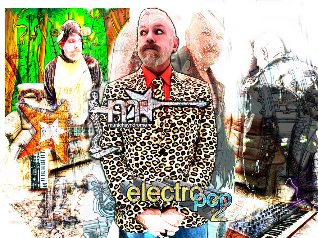 The Electro Pop 2 video sessions- Images from Catastrophe Addict, Don't Fit In, EVERYDAY!!!, Spooky and Electro Pop!