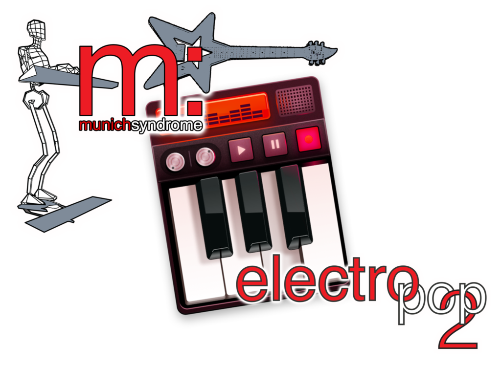 Electro Pop 2 T-Shirt Design by Munich Syndrome