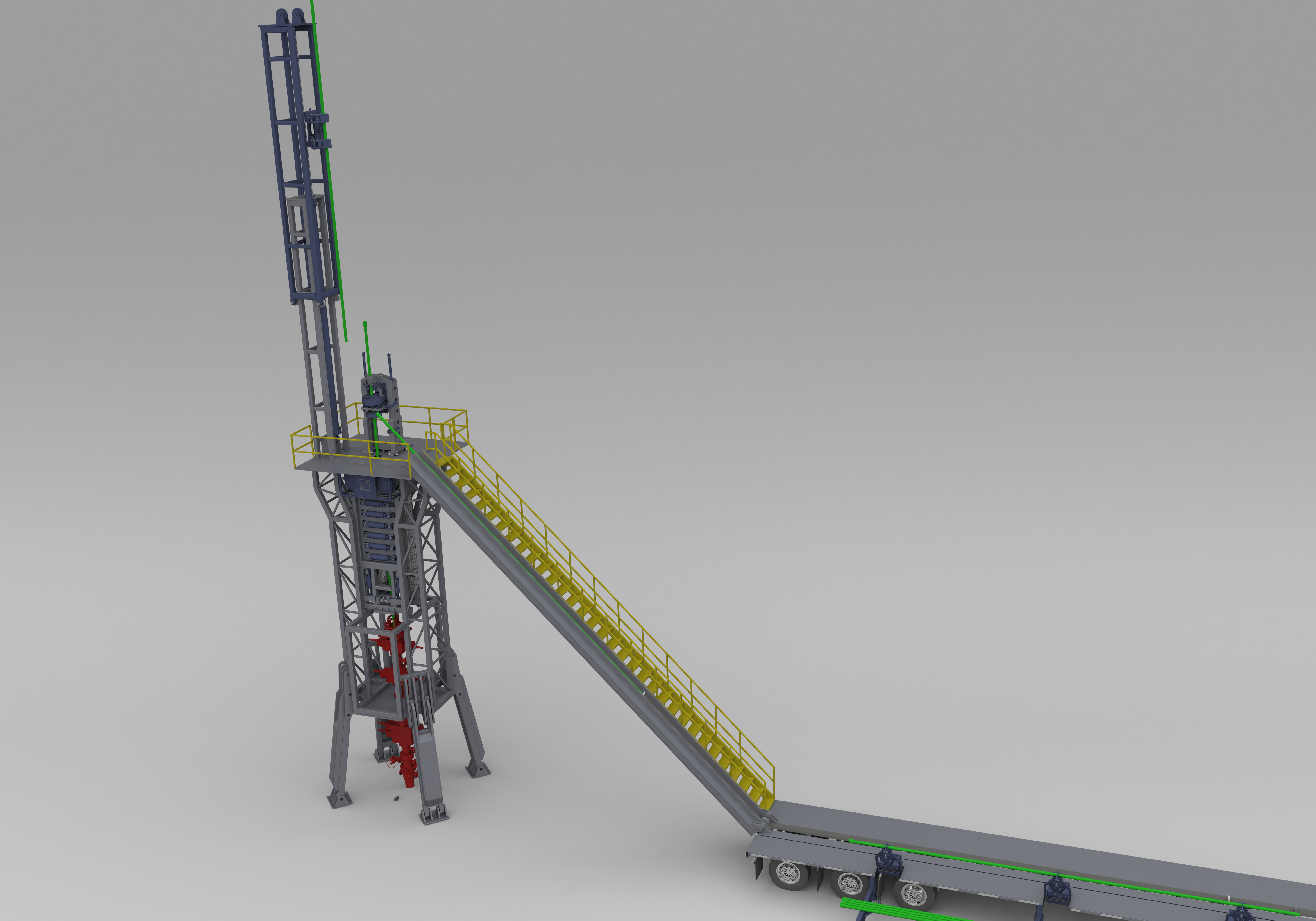 Automated Well Completion Unit