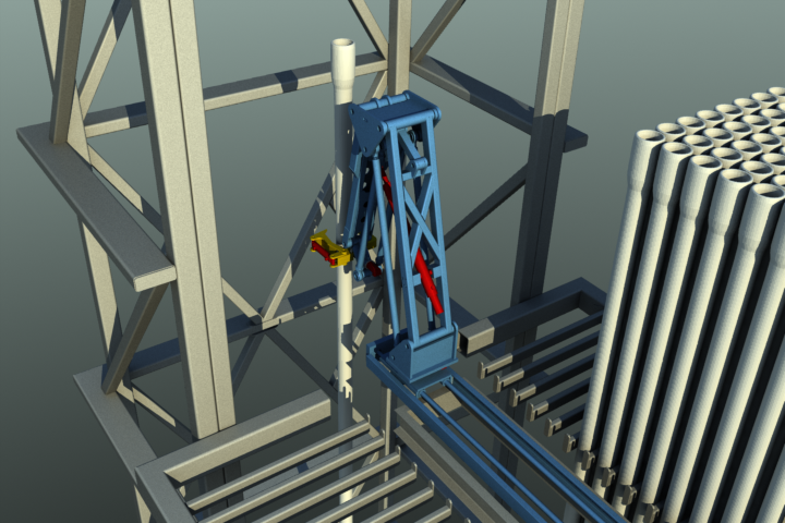 Racking Board Pipe Handling
