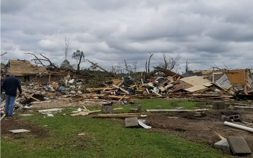 Response To Easter Tornadoes 2020
