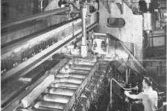 Shear Attached to Blooming Mill Cutting 6 Inch X 6 Inch Bloom [MA-1-23-1945]