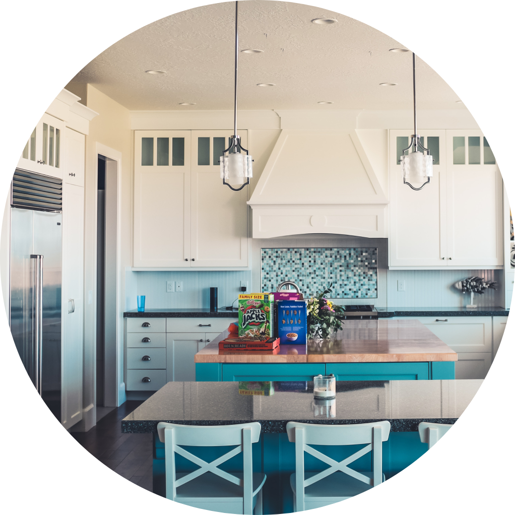 Image of a kitchen in a home