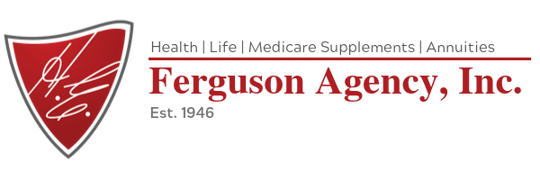 HE Ferguson Agency Color Logo