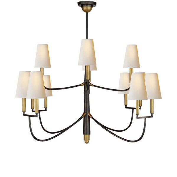 Farlane Large Chandelier by Thomas O'Brien for Visual Comfort