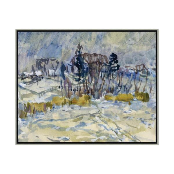 Blue Landscape for Soicher Marin