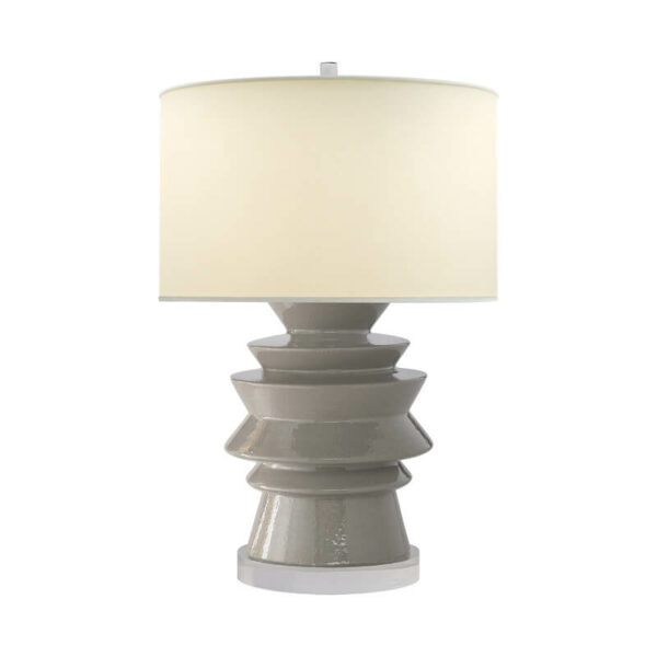 Stacked Disk Table Lamp by Chapman & Myers for Visual Comfort