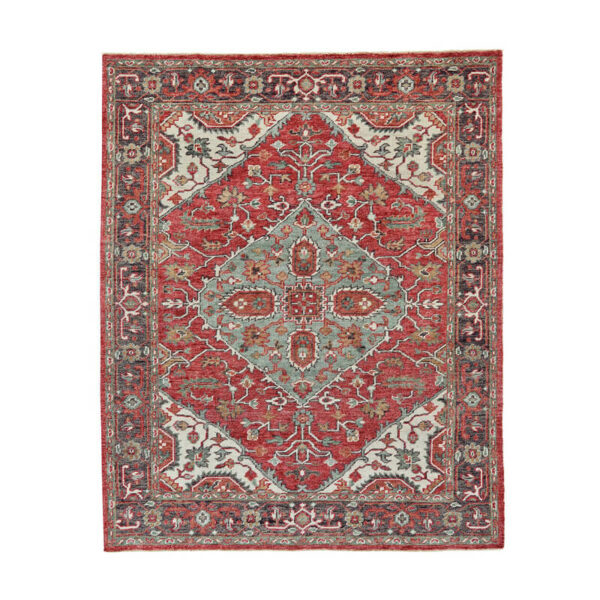 Piraj Rug in Ivory/Charcoal by Feizy