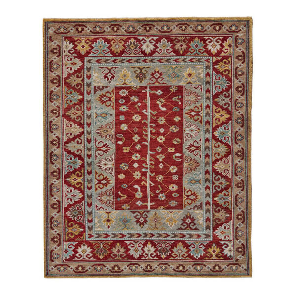 Piraj Rug in Red/Red by Feizy