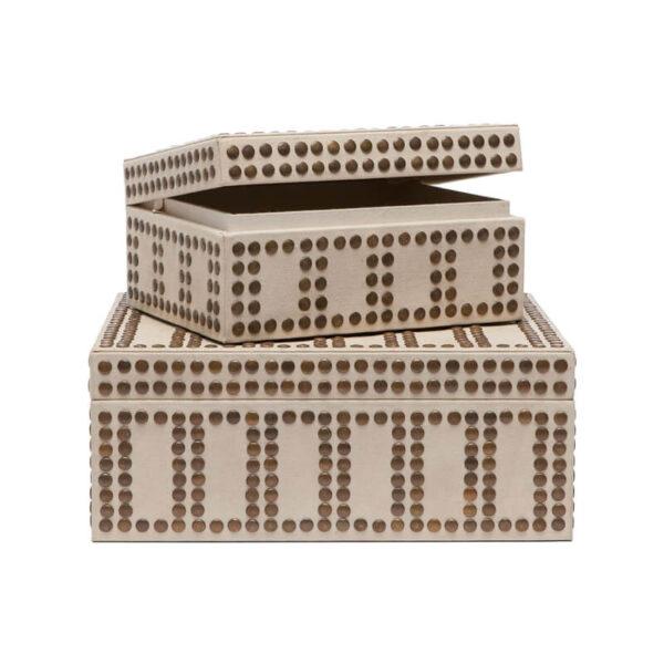 Landon Studded Large Box by Made Goods