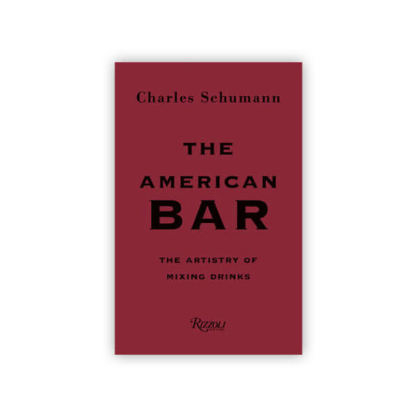 The American Bar by Charles Schumann for Rizzoli New York
