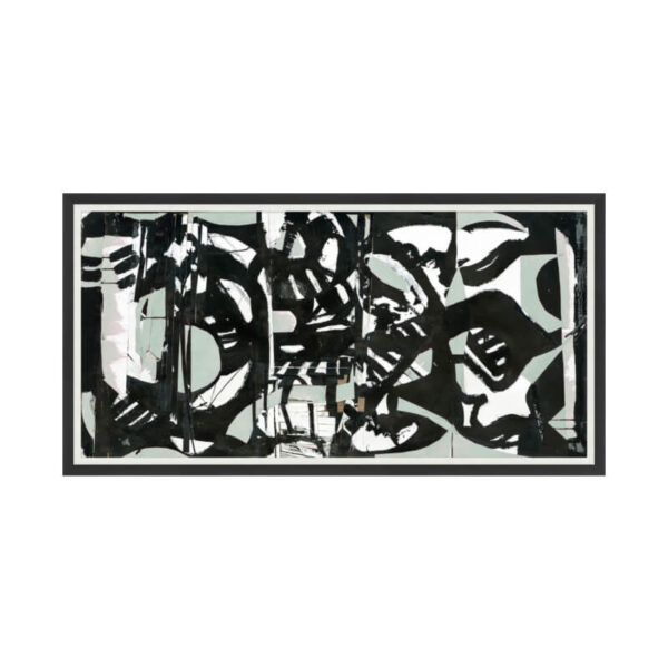 Black and White abstract artwork