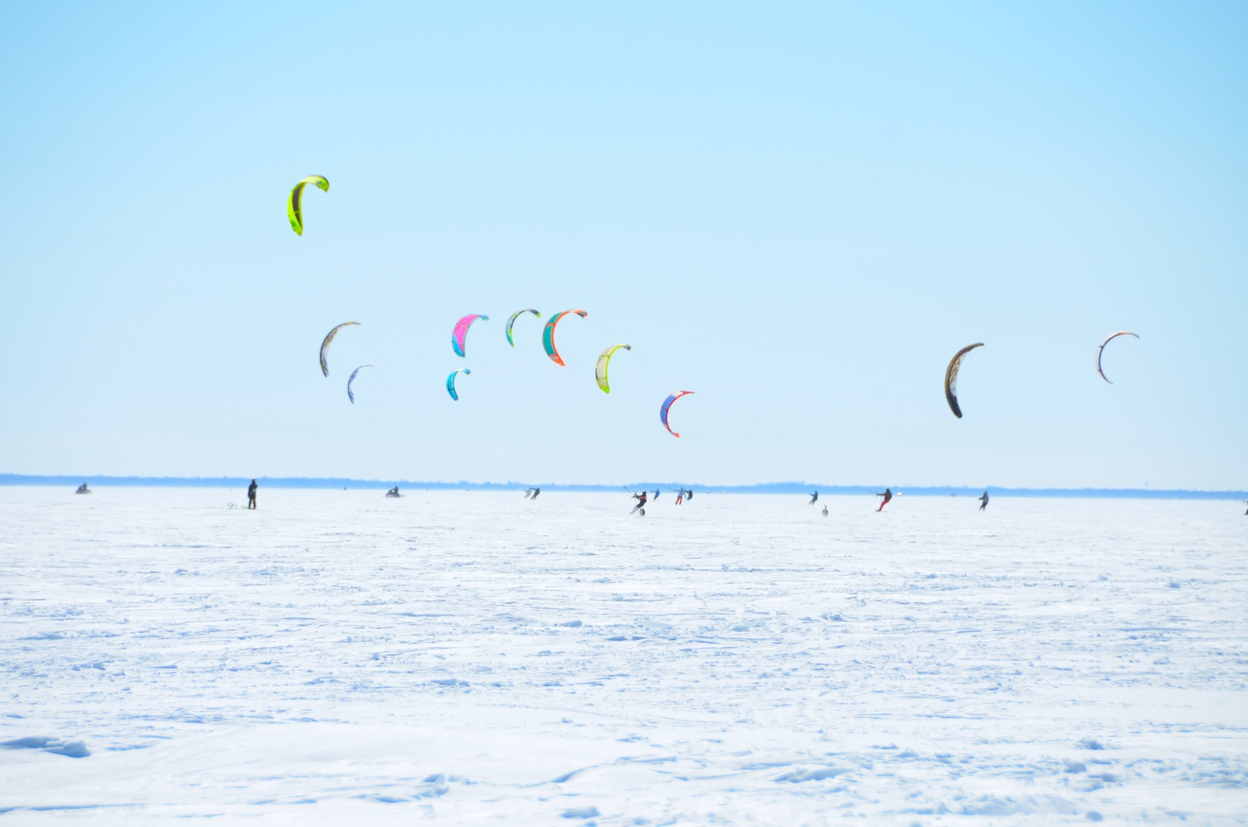 ckss kite snow race
