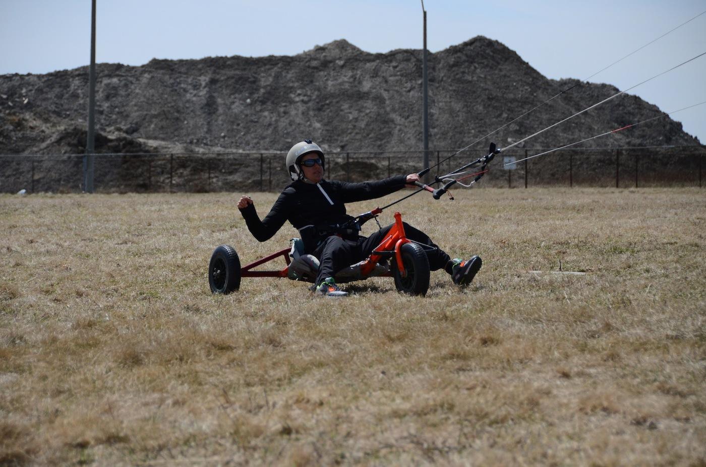 kite buggy ride