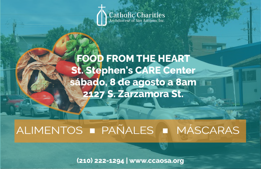 food from the heart spanish flyer