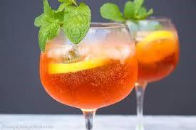 Aperol Wine Cocktail
