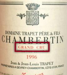 Grand Cru Wine