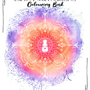 Birth Affirmations Adult Colouring Book