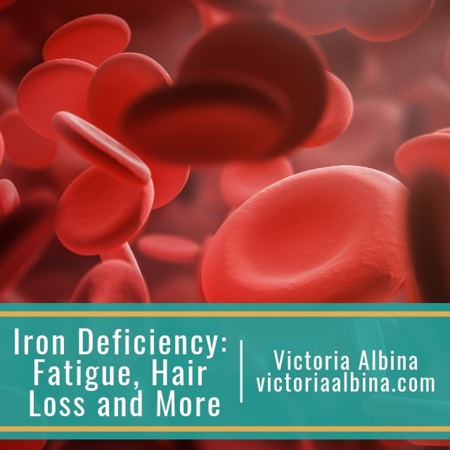 iron deficiency fatigue hair loss and more