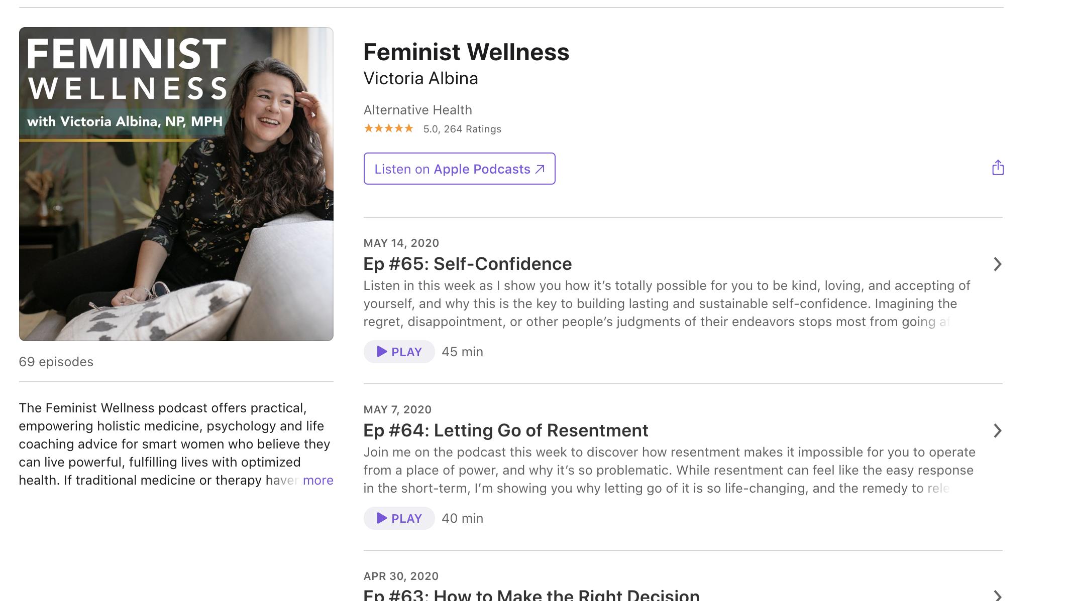 Feminist Wellness Podcast