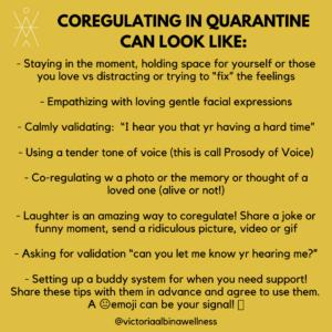 coregulating in qu
