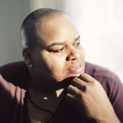 Toshi Reagon photographed at her home in Brooklyn, NY on January 13, 2011.  Photo Credit: Erica Beckman