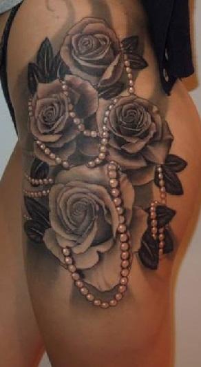 black-and-white-tattoos-girl
