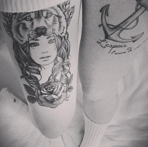wolf-tattoo-designs-leg-girl