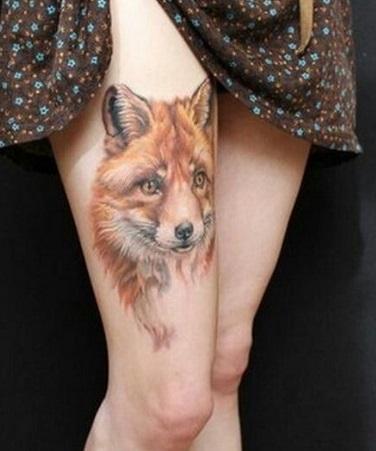 wolf-tattoo-designs-thigh
