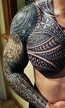 chest-tattoos-samoan