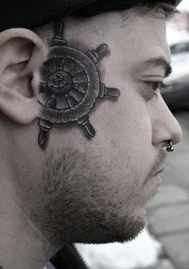 face-tattoo-salior