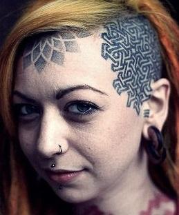 face-tattoos-head