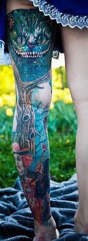 leg-tattoo-full-sleeve-alice